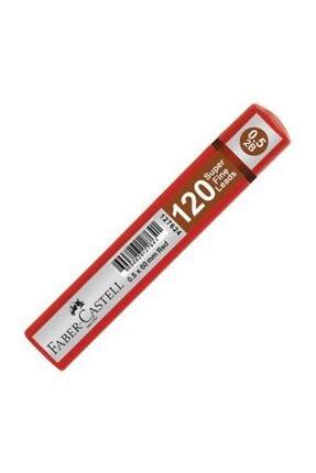 Faber Castell Grip Min 0.5 2b 60mm, 120`li Kırmızı Tüp