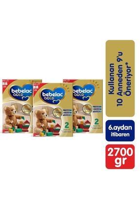 Bebelac Gold 2 3'lü 900gr Mega Paket