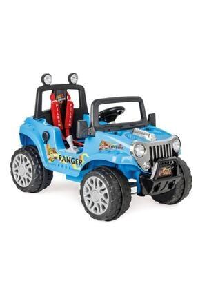 PİLSAN Ranger Akülü Jip / 12 Volt (Uzaktan Kumandalı) Mavi 8693461006272