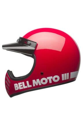 Bell Moto-3 Classıc Red