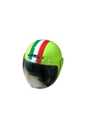 RS1 Çenesiz Rsi Kask Yeşil