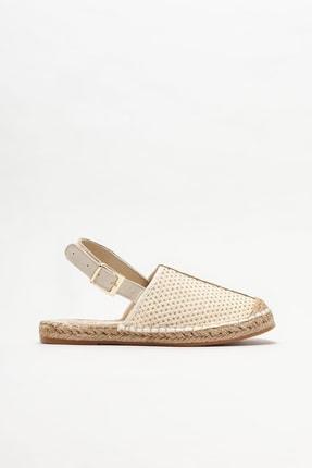 Elle Shoes Bej Kadın Espadril