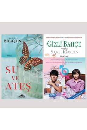 Pegasus Yayınları Su ve Ateş - Gizli Bahçe Pegasus F. Bourdin - Olimpos Kang Yi-eul