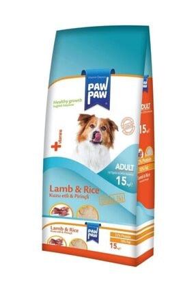 Paw Paw Kuzu Etli Ve Pirinçli Yetişkin Köpek Maması 15 kg