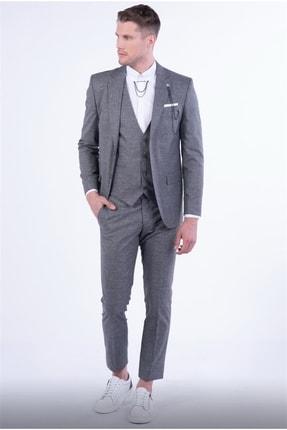 Efor Tk 811 Slim Fit Füme Spor Takım Elbise