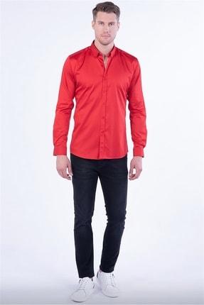 Efor Gk 619 Kırmızı Klasik Gömlek