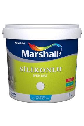 Marshall Silikonlu Ipek Mat Iç Cephe Boyası Beyaz 15 Lt. (20 Kg)