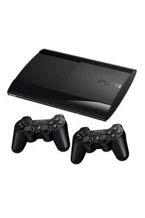 Sony Ps3 500 Gb Süperslim 2 Adet Sıfır Kol 60 Oyun 12 Ay Garanti (TEŞHİR)