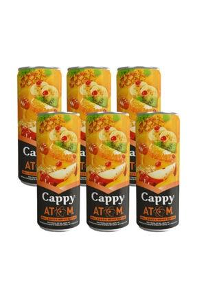Cappy Atom Ballı Karışık Meyve Nektarı Meyve Suyu 330ml - 6 Adet