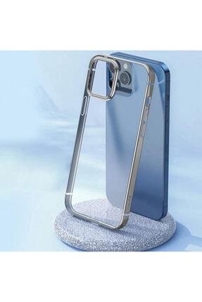 Baseus Glitter Iphone 12 Pro Uyumlu  Max Şeffaf Lüx Silikon Kılıf Soft Tpu Kılıf