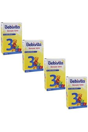 Bebivita 3 Devam Sütü 500 gr 4 Lü Paket