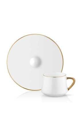 Koleksiyon1 Koleksiyon 6'lı Sufi Türk Kahvesi Seti Altın 31000040014