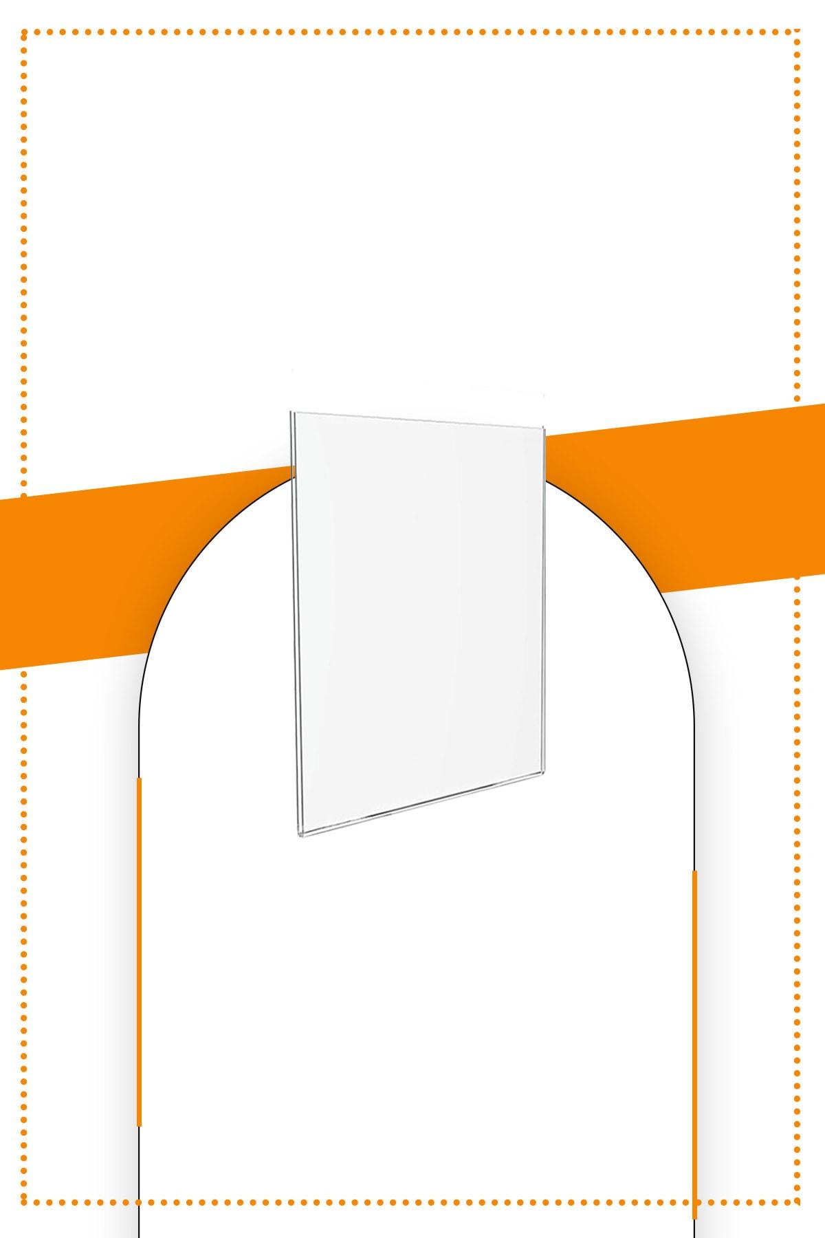 Etias Reklam A7 U Tipi Dikey Masa Üstü 2.8 Mm Şeffaf Pleksi Föylük /  Broşürlük Fiyatı, Yorumları - TRENDYOL