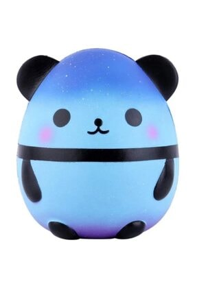 Squishy Jumbo Panda Büyük Boy Yavaş Yükselen (mavi)