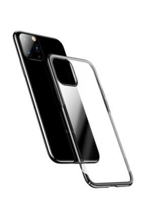 Baseus Glitter Case Iphone 11 6.1 2019 Şeffaf Lüx Silikon Kılıf Siyah