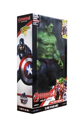AVENGERS 4 Age Of Ultorn Hareketli Ve Işıklı Hulk Figür Oyuncak 30 X 17 Cm