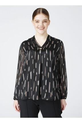 Ekol Kadın Siyah Bluz