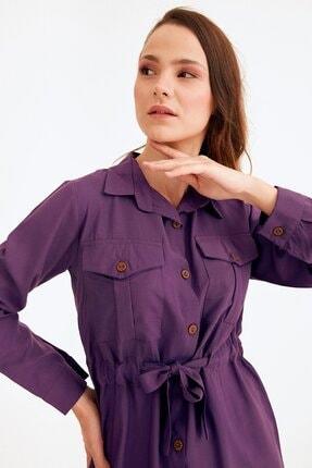 Fulla Moda Beli Kuşaklı Düğmeli Tunik