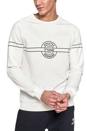 HUMMEL Erkek Herkül Beyaz Sweatshirt 921036-9973