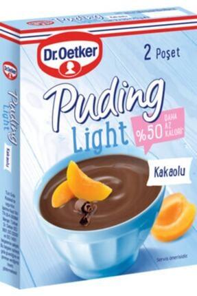 Dr. Oetker Light Puding Kakaolu 70 gr 12 Adet
