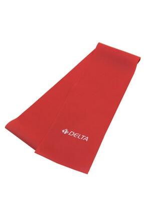 Delta Pilates Bandı Hafif Sert 90 x 7,5 Cm Egzersiz Direnç Lastiği