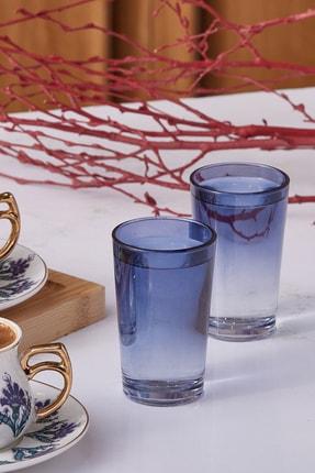 Emsan Firuze Alanya Mavi Kahve Yanı Su Bardağı 6'lı