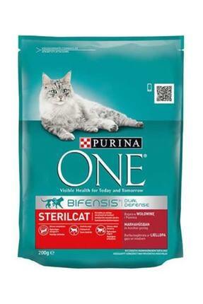 Purina Purina One Kısırlaştırılmış Kedi İçin Sığır Etli 200G