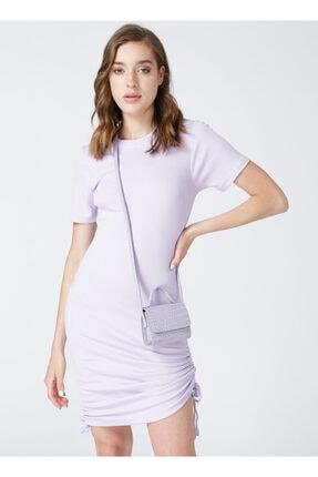 AEROPOSTALE Kadın Lila Elbise