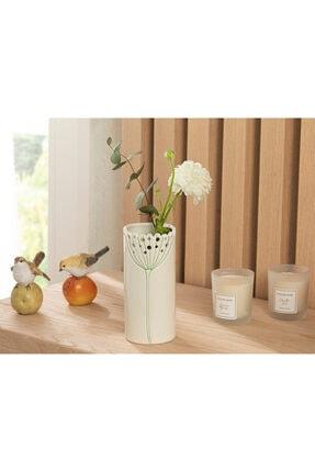 English Home Dandelion Vazo 7.7x7.7x17.3 Cm Bej