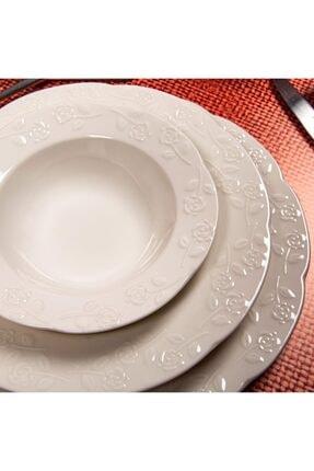 Güral Porselen Carmen 24 Parça Yemek Takımı 6 Kişilik