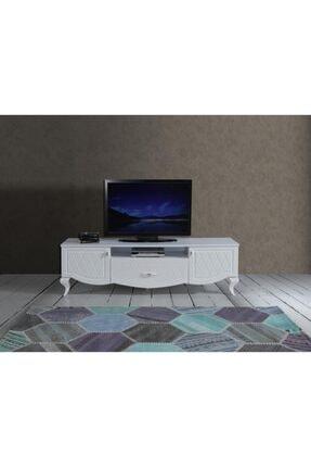 SİVAS GÖZDE MOBİLYA Yağmur Country Plazma Televizyon Tv Sehpası 180x47x53cm