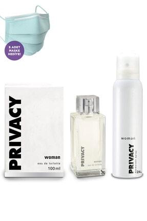 Privacy Kadın Edt Parfüm 100ml Ve Deodorant 150ml