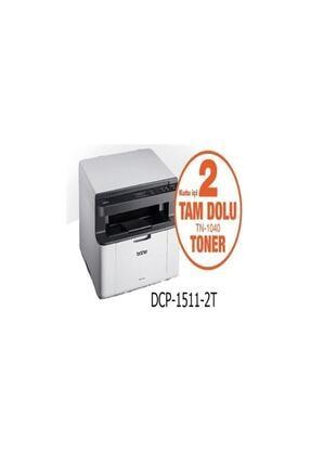 Brother Dcp-1511 Orjinal 2 Tonerli Mono Laser 20ppm A4 Yazıcı