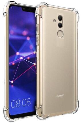 Huawei Mate 20 Lite Kılıf Darbelere Dayanıklı Sert Silikon Şeffaf