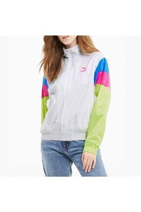 Puma Kadın White tfs Track Jacket Woven  Ceket 59774302