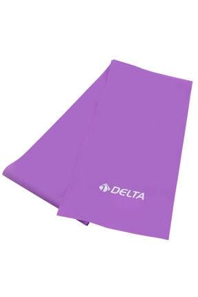 Delta Pilates Bandı Orta Sert 150 x 15 Cm Egzersiz Direnç Lastiği