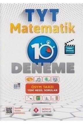 Sonuç Yayınları Sonuç Tyt Matematik 10 Lu Deneme 2020-2021 Yeni Müfredat