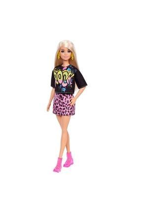 Barbie Büyüleyici Parti Bebekleri Fashionistas  Rock Tişörtlü GRB47