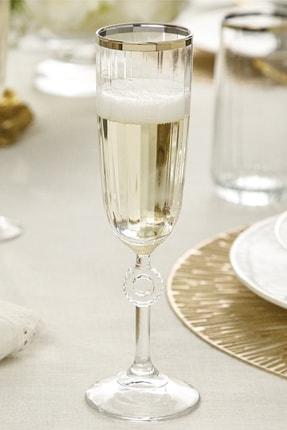 English Home Puget Cam 2'li Şampanya Kadeh 150 Ml Gold