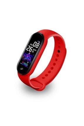 Polosmart Pssw09 Smartstep Uyumlu Akıllı Bileklik Kırmızı