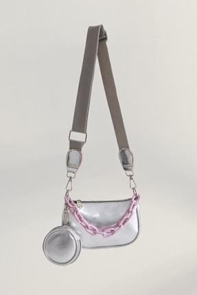 hoQuspoQus Kız Çocuk Aksesuar Zincir Detaylı Çanta