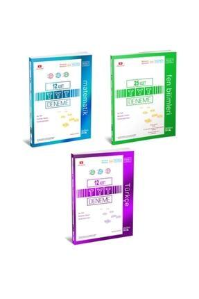 ÜçDörtBeş Yayınları 345 Üç Dört Beş Tyt Matematik Fen Türkçe Deneme Seti 2021 Model