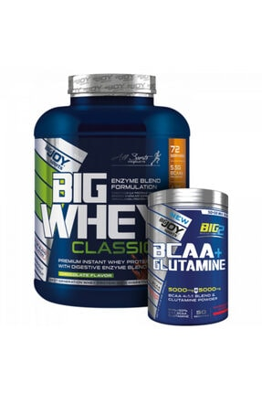 Big Joy Sports Bıg Whey Protein Classic 2376g 72 Servis + Bcaa + Glutamine 600g