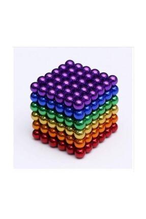 1001Hediye 6 Farklı Renkli Sihirli Manyetik Toplar Neodyum Mıknatıs 216 Pcs