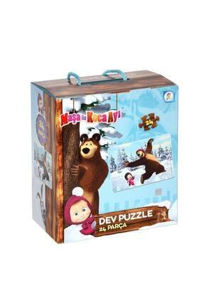 LAÇO Kids Maşa Ile Koca Ayı Dev Puzzle 24 Parça