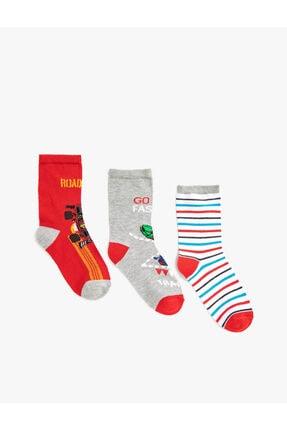 Koton Erkek Çocuk Kırmızı Çorap Seti