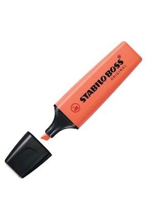 Stabilo Fosforlu Kalem Boss Orıgınal Pastel Kırmızı