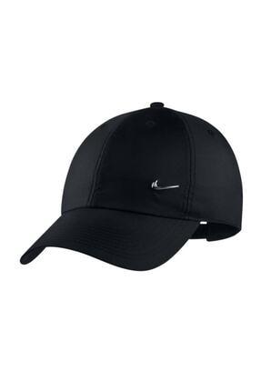 Nike Metal Swoosh Black Şapka Cw4607-010