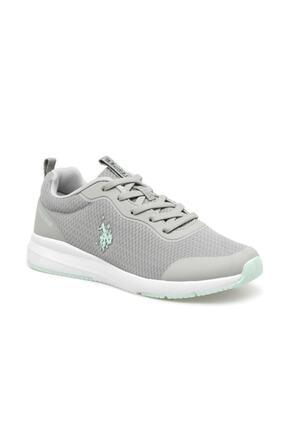 U.S. Polo Assn. Us Polo Assn Kadın Gri Sneaker Ayakkabı Smart