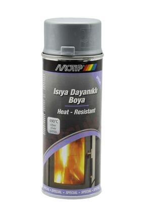 Motip Gümüş 650 °c Isıya Dayanıklı Sprey Boya 400 ml